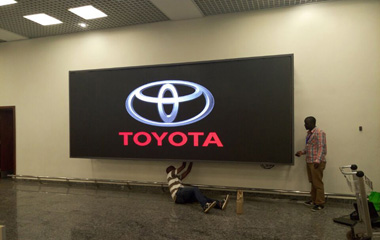 P4mm SMD Indoor Advertising LED Display for Airport