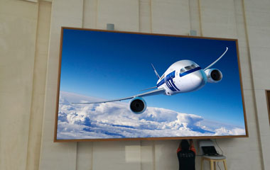 P3mm SMD HD indoor LED display for airport in Malaysia