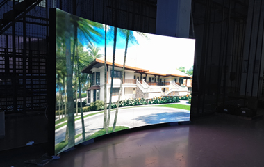 P3mm SMD HD Indoor Curved LED Display in Kuala Lumpur
