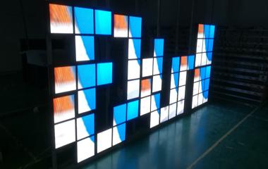 P5mm SMD Irregular Customized LED Display for Bar