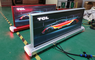P3.33mm SMD Outdoor LED Taxi Topper Sign Display