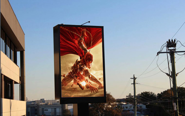 P10mm SMD Outdoor Advertising LED Display In Australia