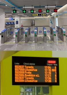 Transportation LED Display
