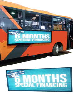 Bus LED Advertising Screen